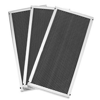 Three mesh grease filter have expanded wire mesh and aluminum frame