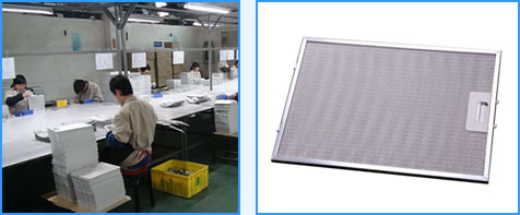 We provide specialized training and standard producing process of grease filters
